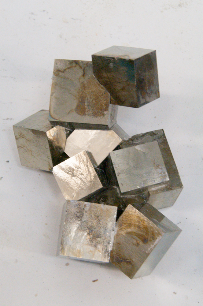 Completed Pyrite in Lab