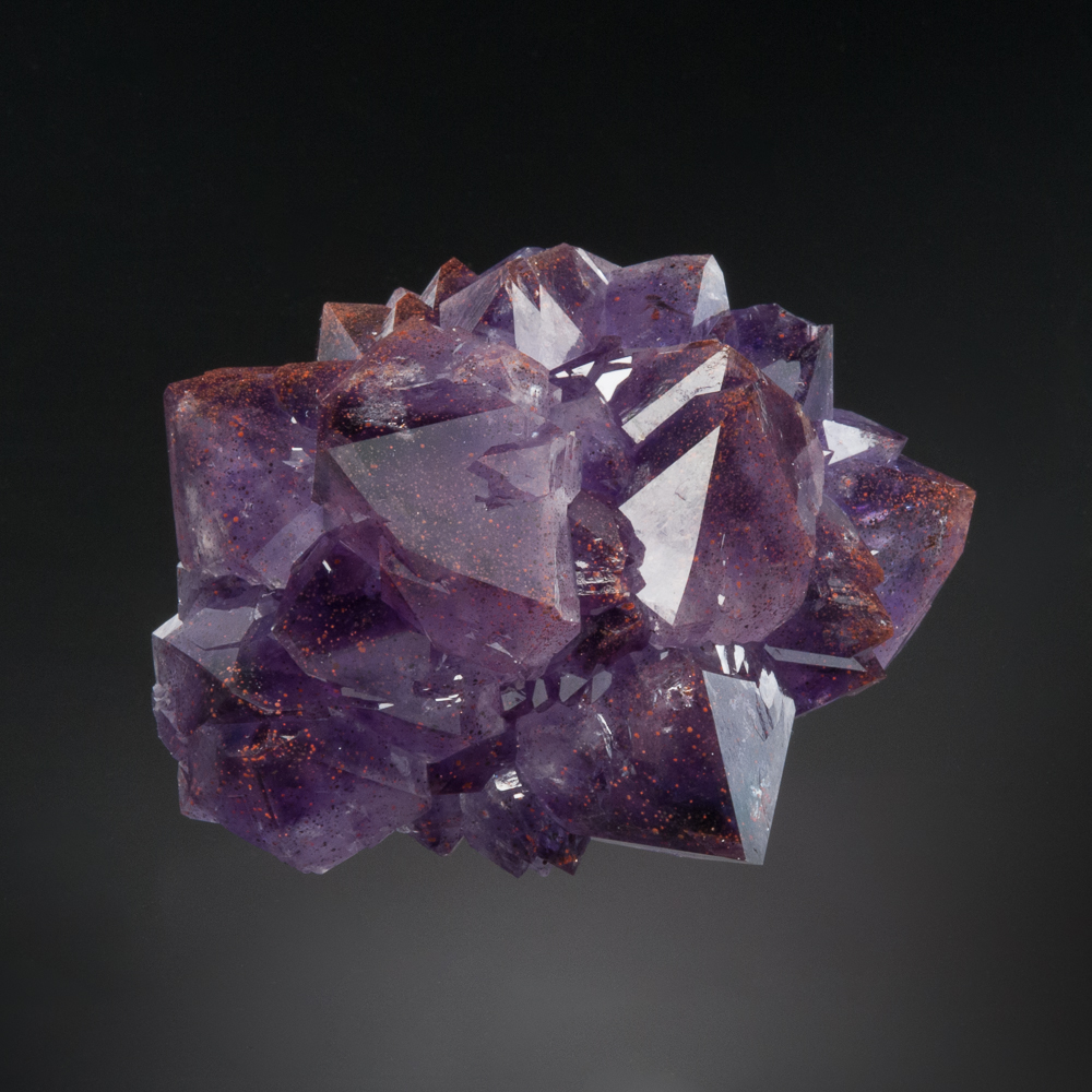 Quartz var. Amethyst, Diamond Willow Mine, McTavish Twp., Thunder Bay District, Ontario