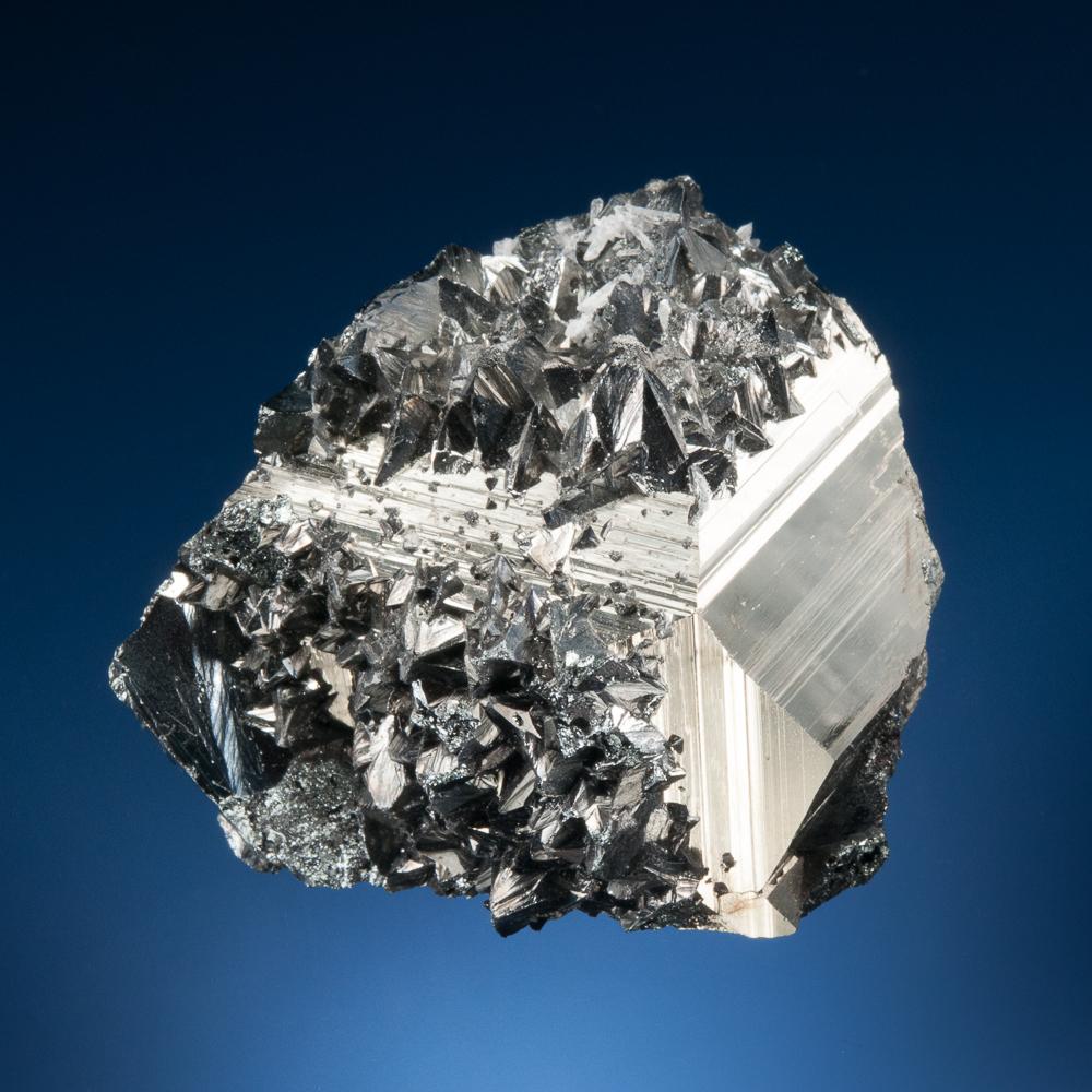 Tetrahedrite on Pyrite, Mundo Nuevo Mine, Huamachuco, La Libertad, Peru