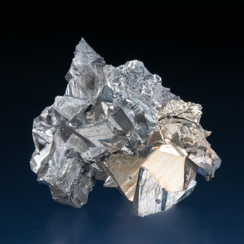 Tetrahedrite and Pyrite, Mundo Nuevo Mine, Huamachuco, La Libertad, Peru