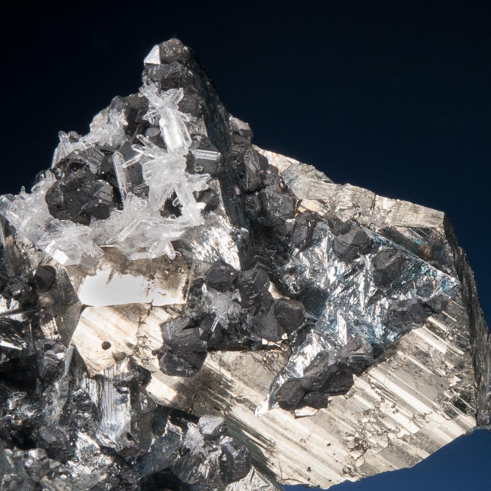 Tetrahedrite, Pyrite, Sphalerite, Quartz, Mundo Nuevo Mine, Huamachuco, La Libertad, Peru