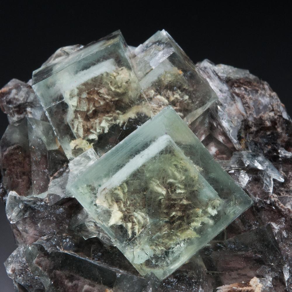 Fluorite (Phantoms), Huangshaping Mine, Guiyang Co., Hunan Province, China