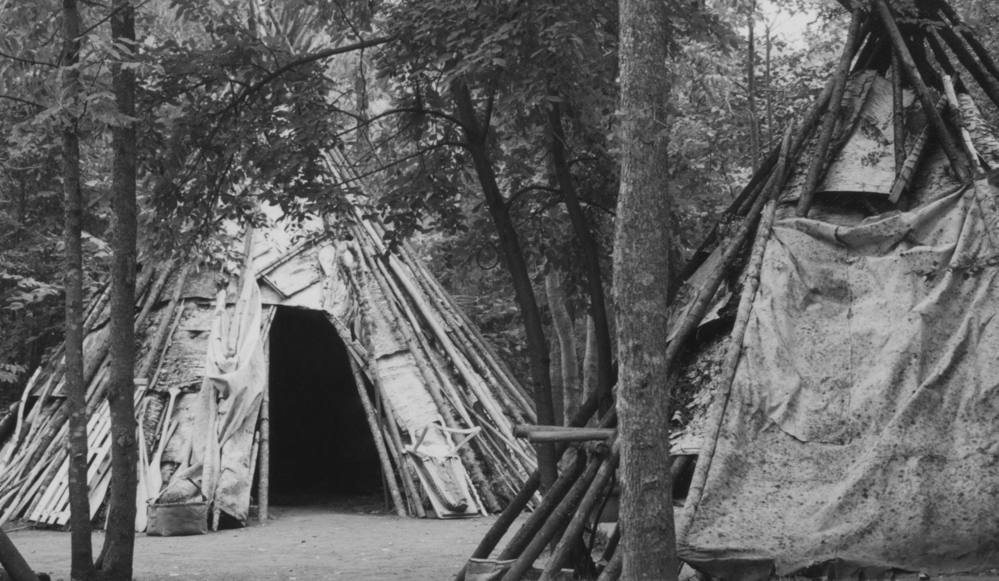 Ojibwe Teepees, Fort William, Ontario