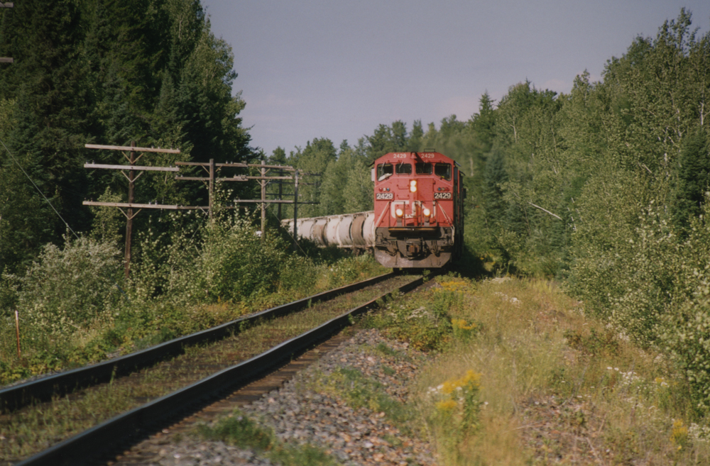 CNR Train, Northern Ontario