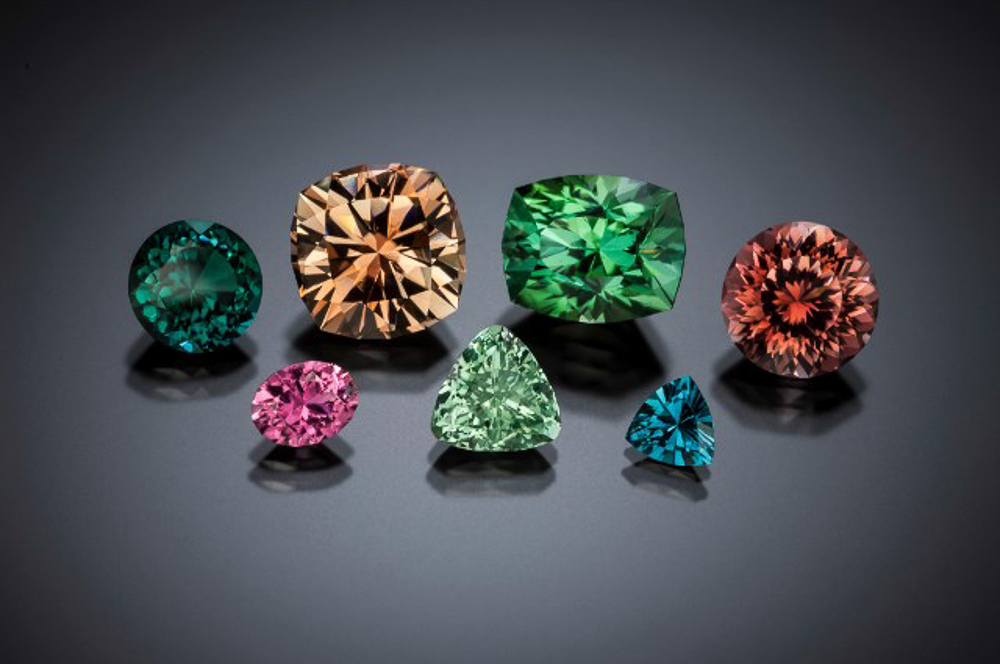 Gemstones from Mt. Marie, Maine