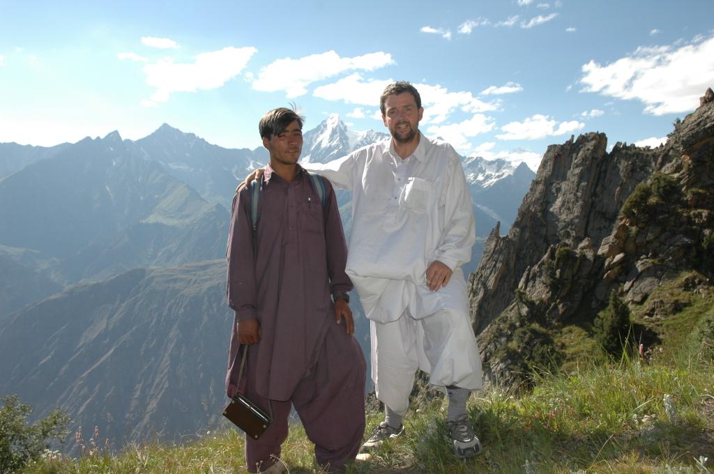 Dr. Peter Lyckberg, Dusso, Haramosh Pegmatites, Pakistan