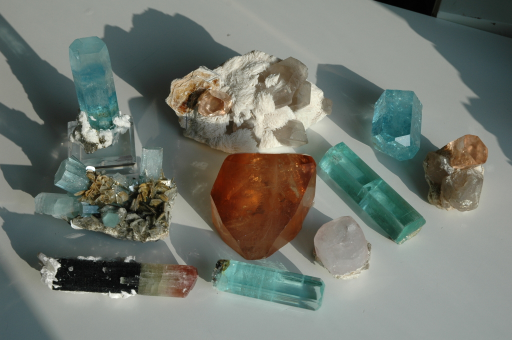 Peter Lyckberg, Pakistani gem crystals Aug 2005- Feb 2006