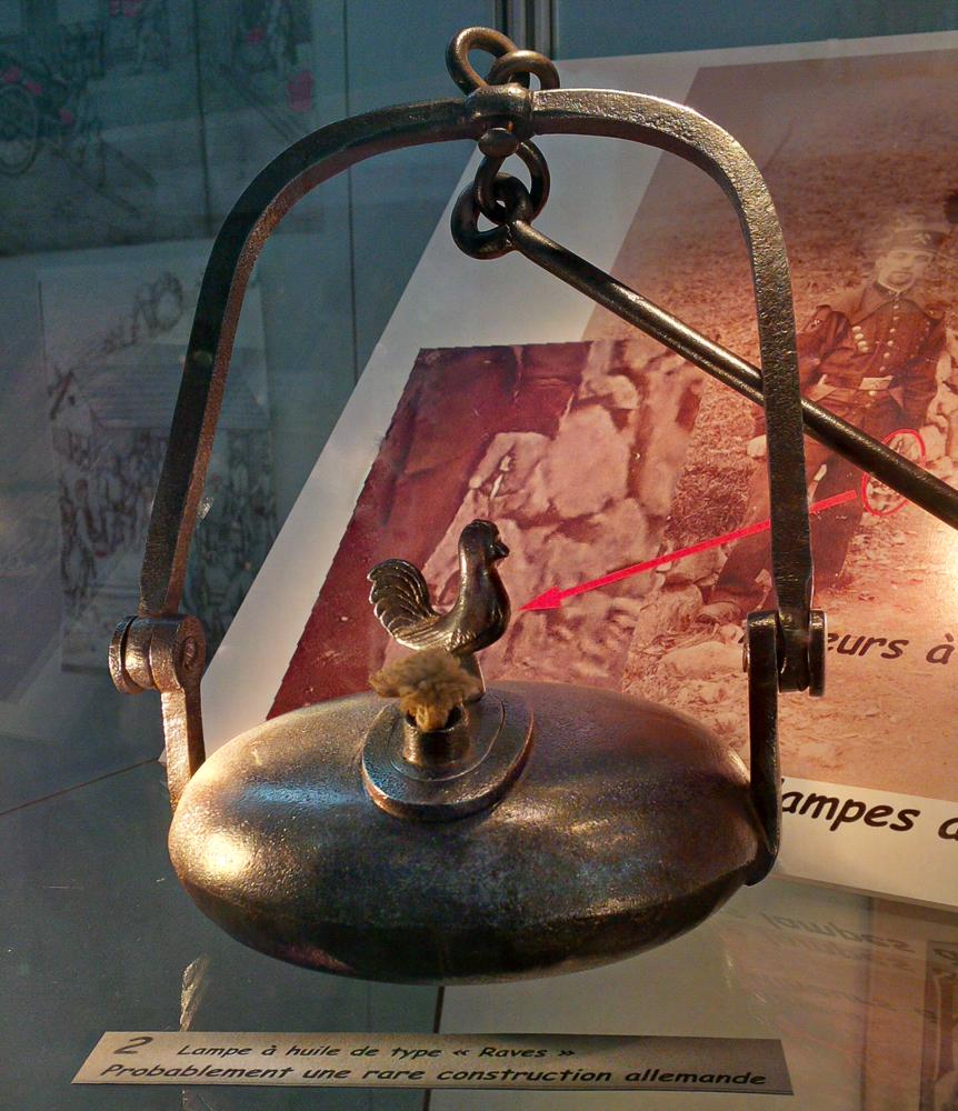 Miner's Lamp, Saint-Marie-aux-Mines