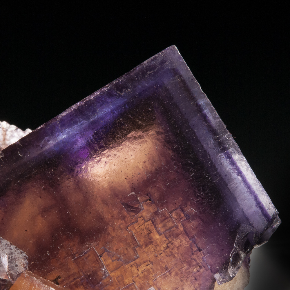 Fluorite, Cave-in-Rock District, Hardin Co., Illinois