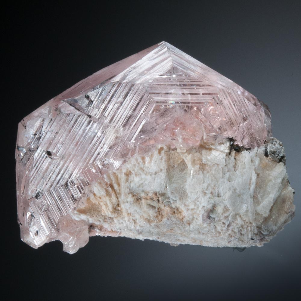 Beryl, var. Morganite, Urucum Mine, Galileia, Minas Gerais, Brazill