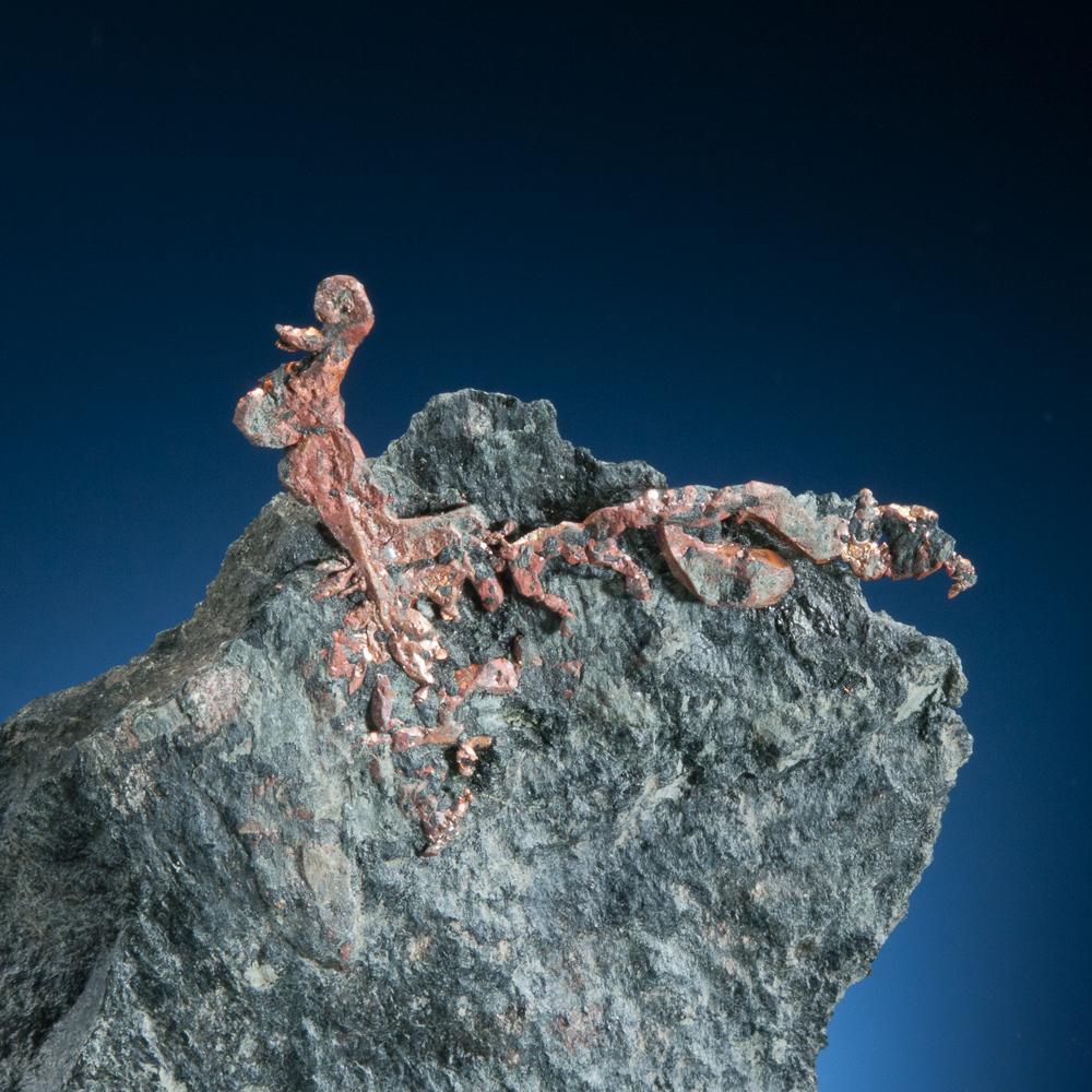Copper, Colonial Copper Mine, Cape D'Or, Nova Scotia