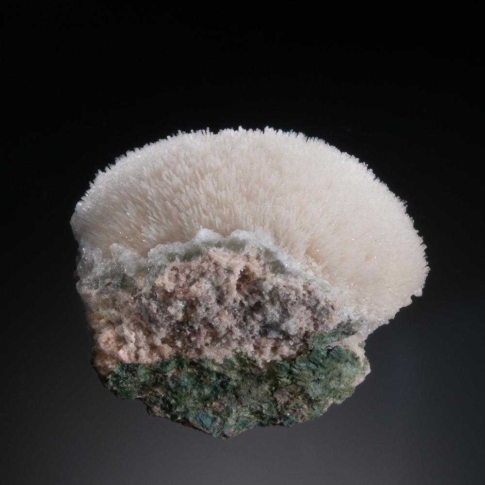 Natrolite, Cape Split, Kings Co., Nova Scotia, Canada