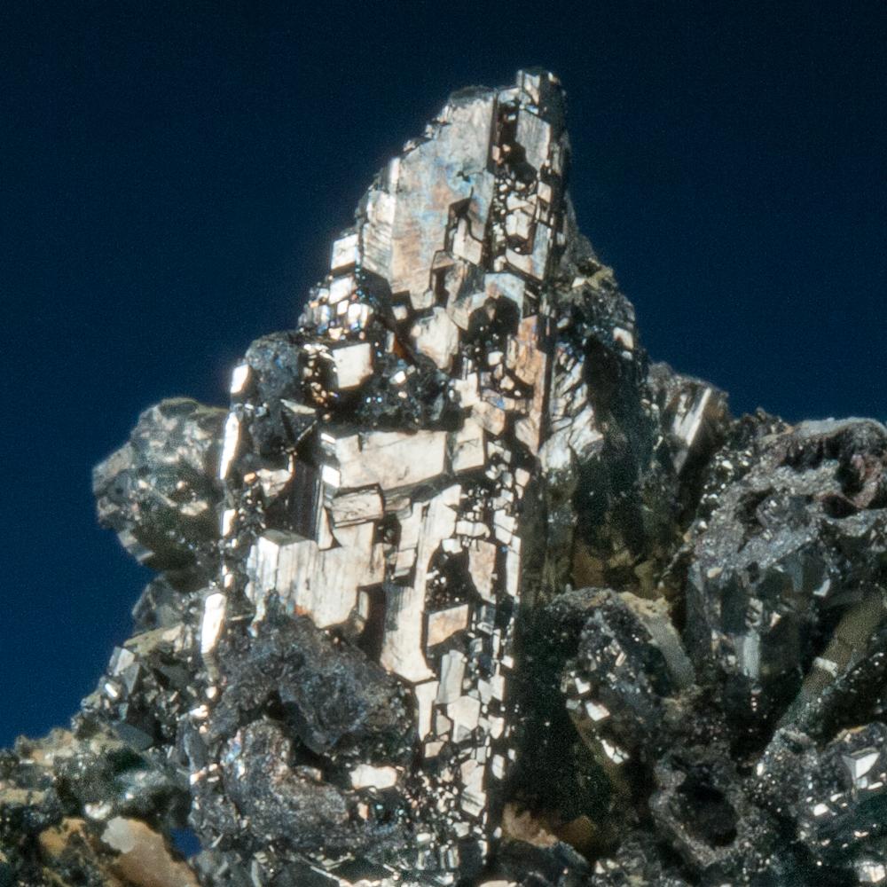Enargite, Quiruvilca Mine, Santiago de Chuco Province, La Libertad Department, Peru