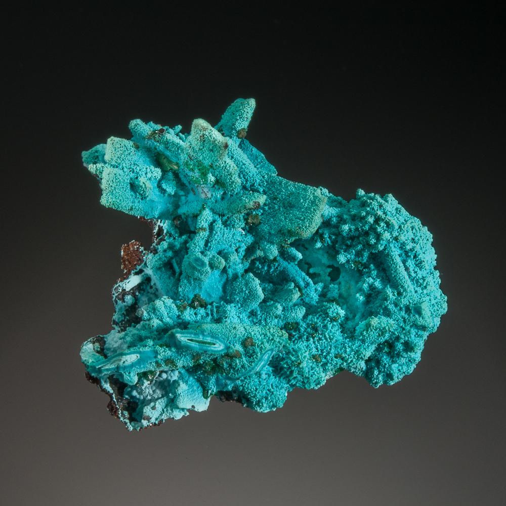 Ajoite, Luputo Mine, Lubumbashi, Democratic Republic of the Congo