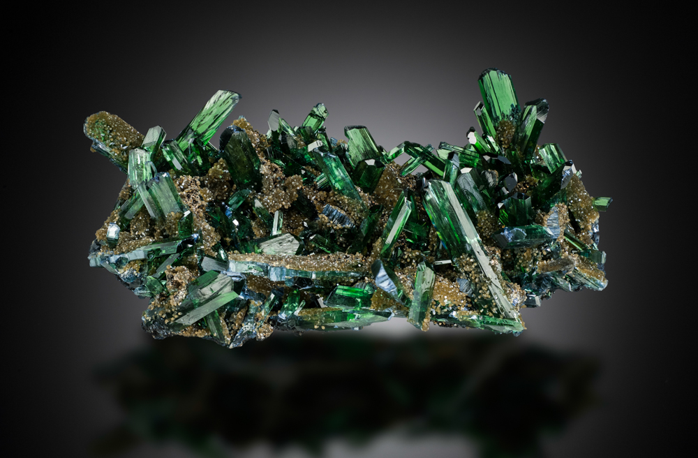 Vivianite, Huanuni Mine, Bolivia