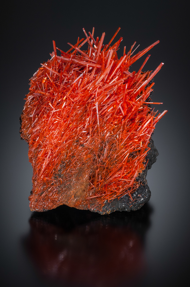 Crocoite, Red Lead Mine, Tasmania