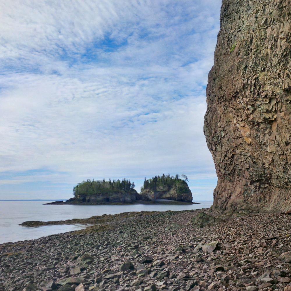 Two Islands, Bay of Fundy, Nova Scotia