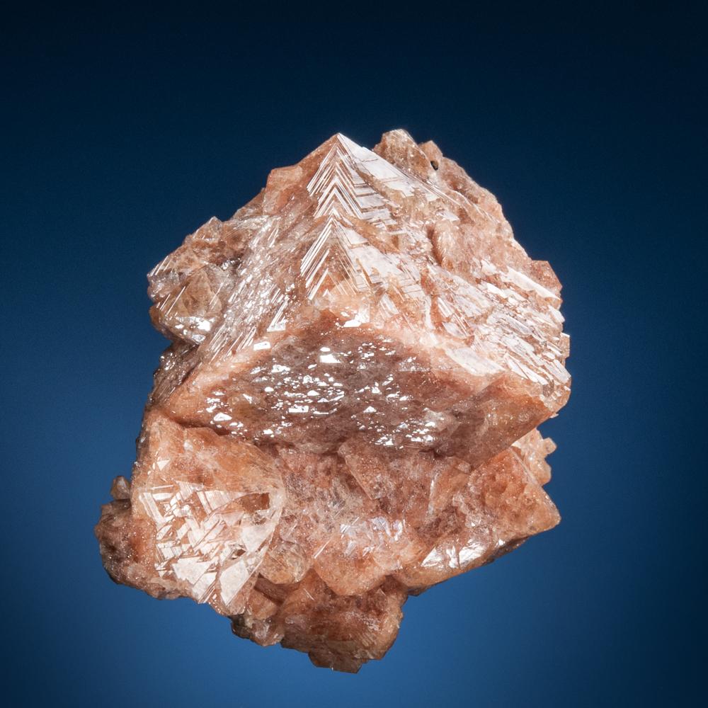 Gmelinite pseudomorph after chabazite, Pinnacle Rock, Five Islands, Nova Scotia, Canada