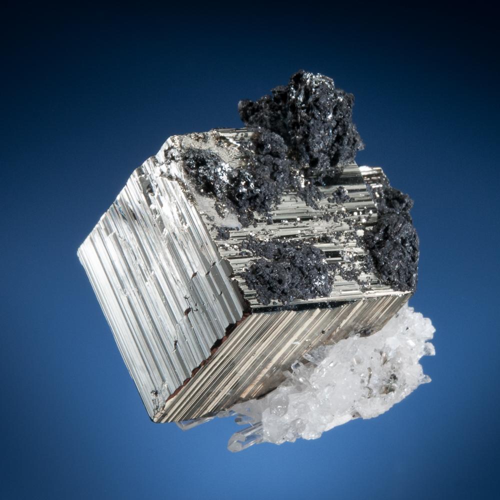 Pyrite and Lautite, Mundo Nuevo Mine, Huamachuco, Sanchez Carrion Province, La Libertad Dept., Peru