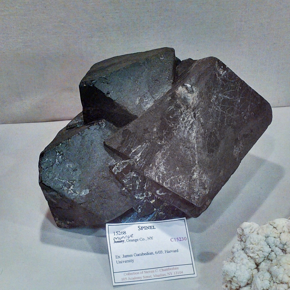 Spinel, Monroe, Orange Co., New York, New York State Museum, Steve Chamberlain Collection