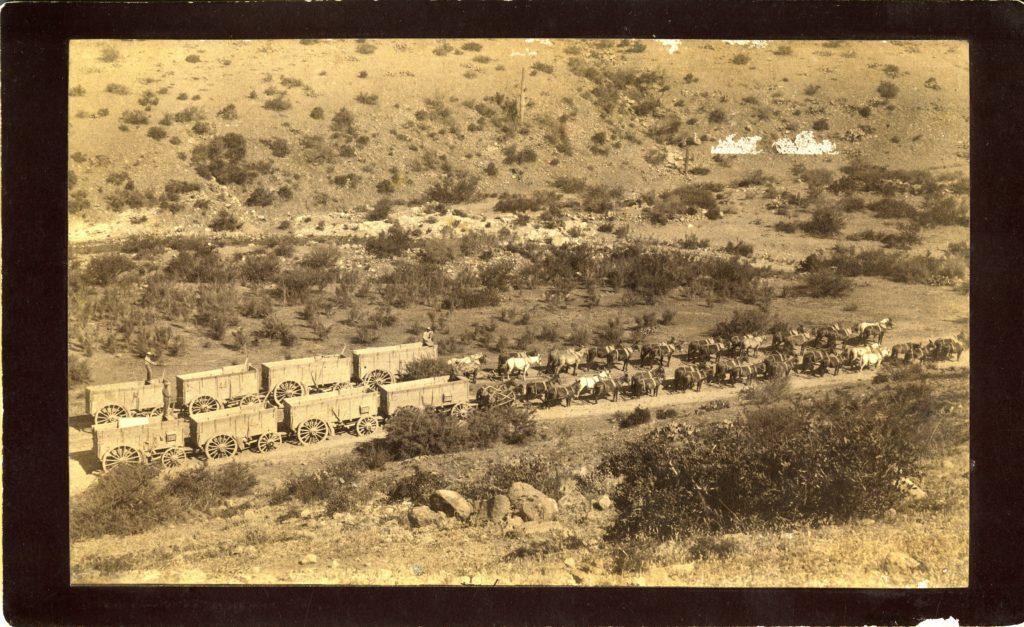 Silver King, Ore Wagon, 1880s.AHS