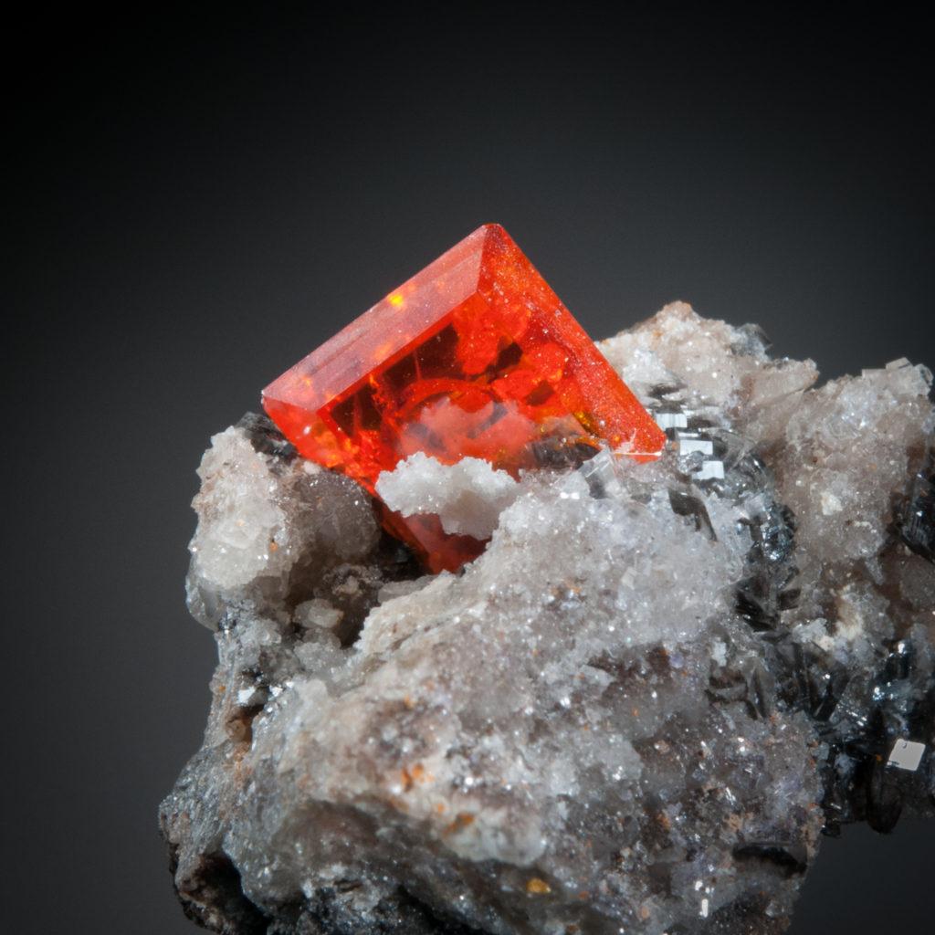Wulfenite, Red Cloud Mine, Trigo Mountains, La Paz Co., Arizona, US