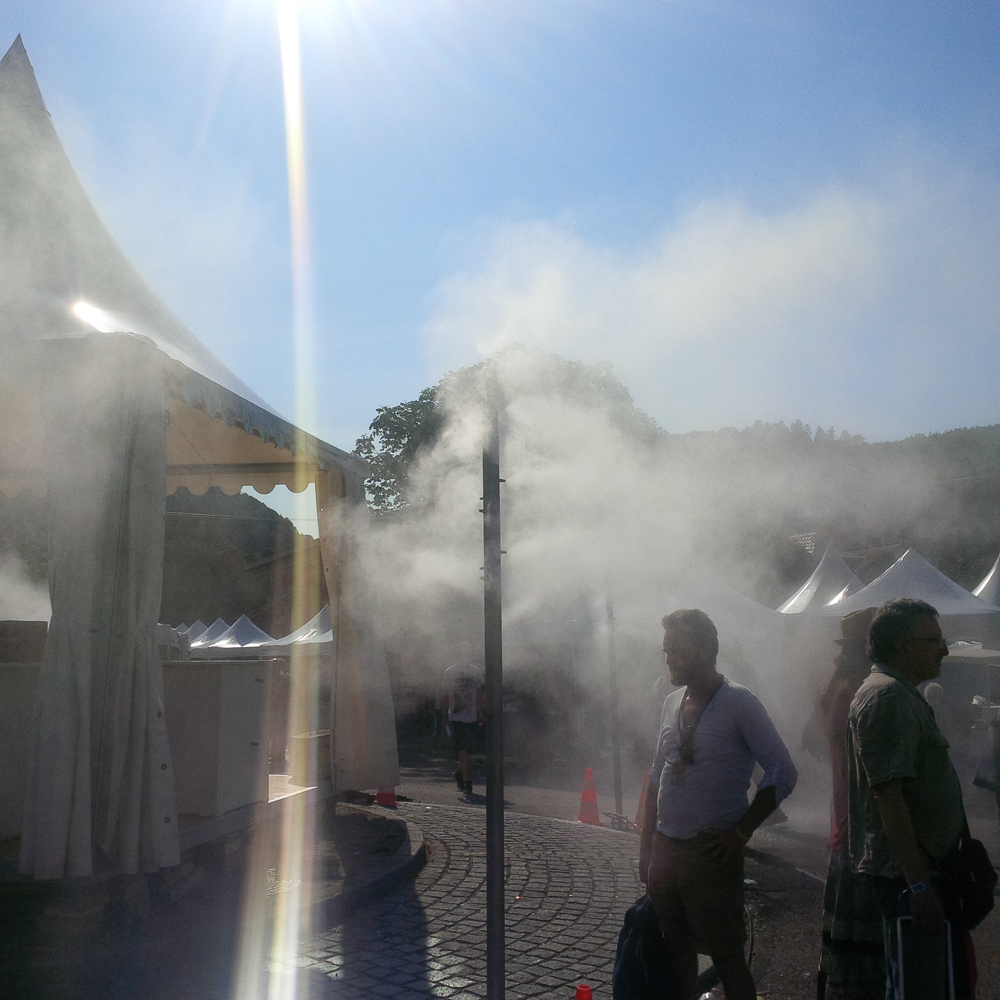 Misting Towers