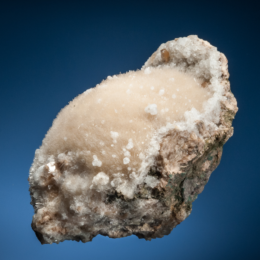 Natrolite with Analcime, Cape Split, Blomidon Peninsula, Kings Co., Nova Scotia, Canada