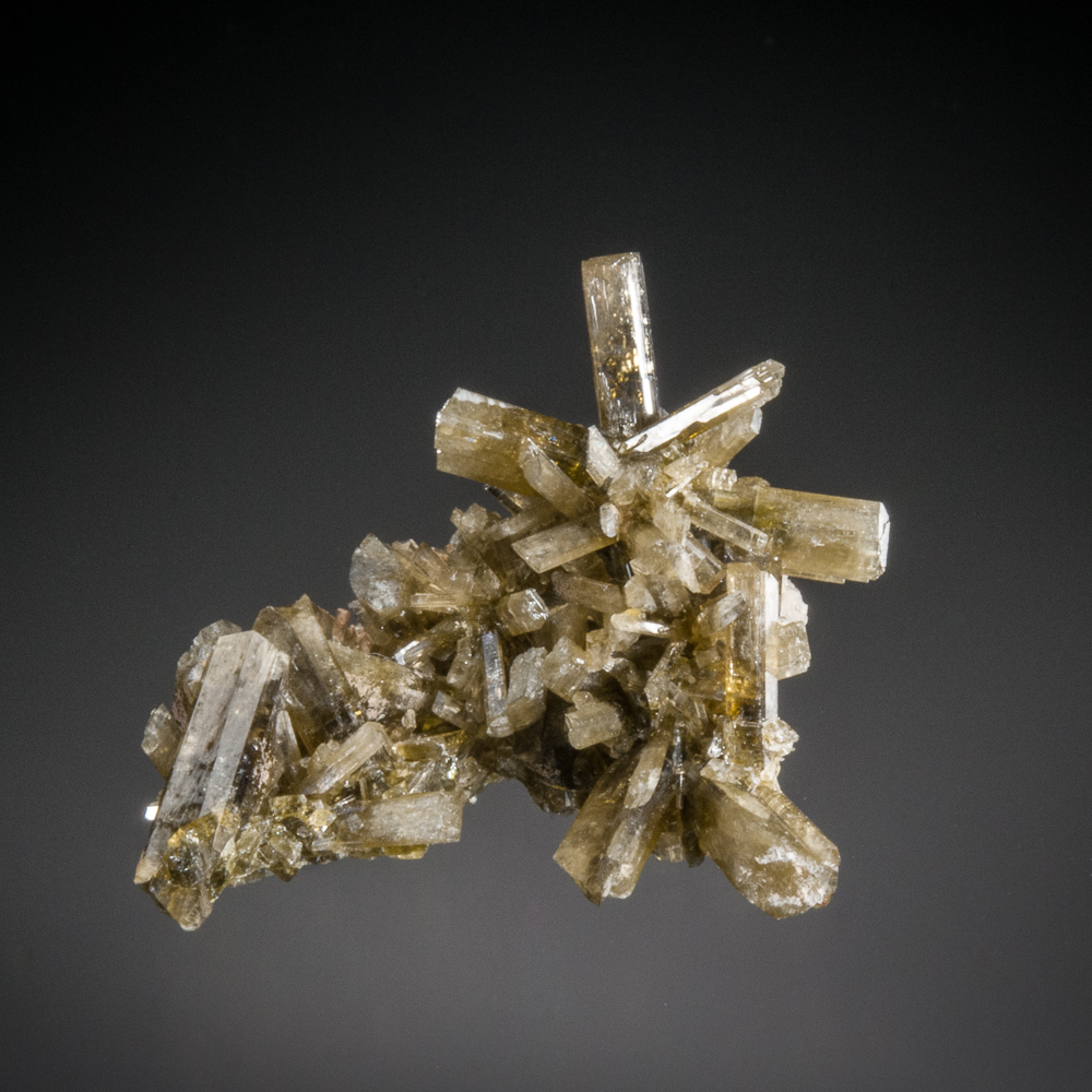 Clinozoisite, Cerro San Cristobal, San Vincente de Canete, Canete Province, Lima Dept., Peru