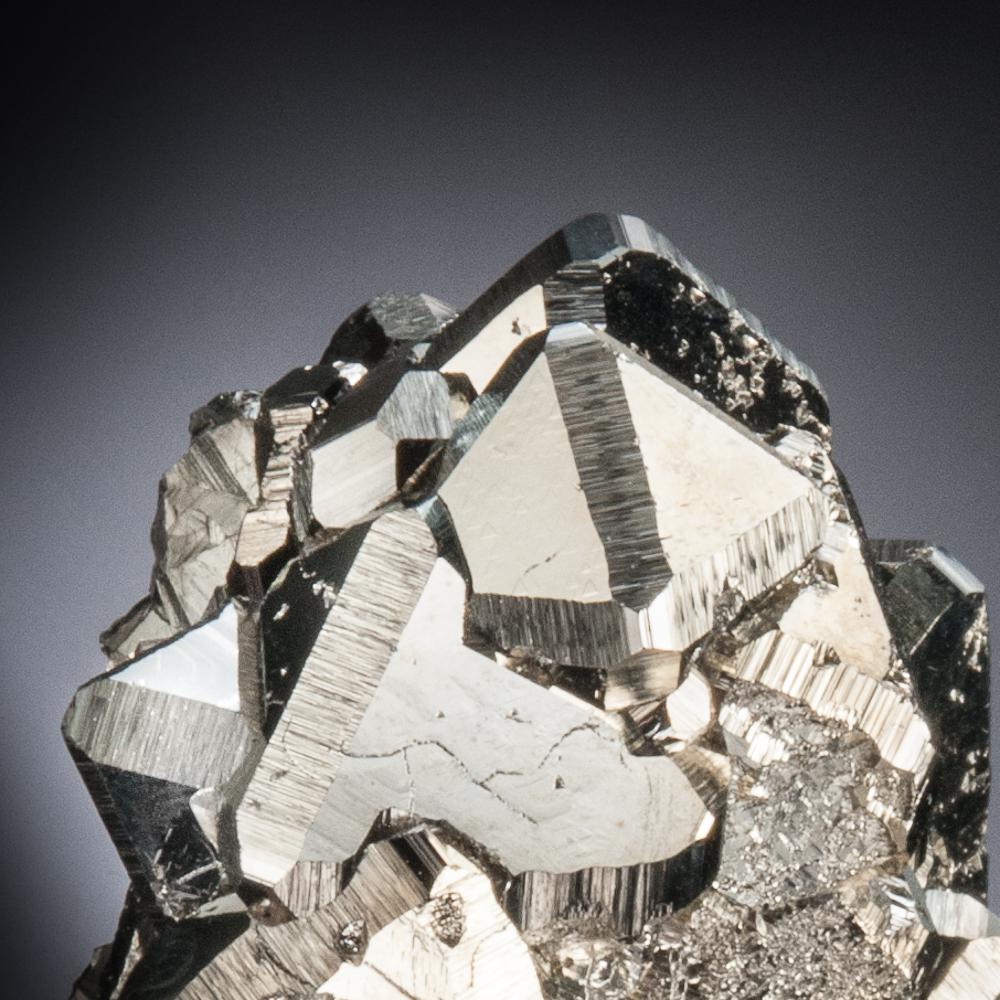 Pyrite, Huanzala Mine, Huallanca District, Dos de Mayo Province, Huanuco Dept., Peru