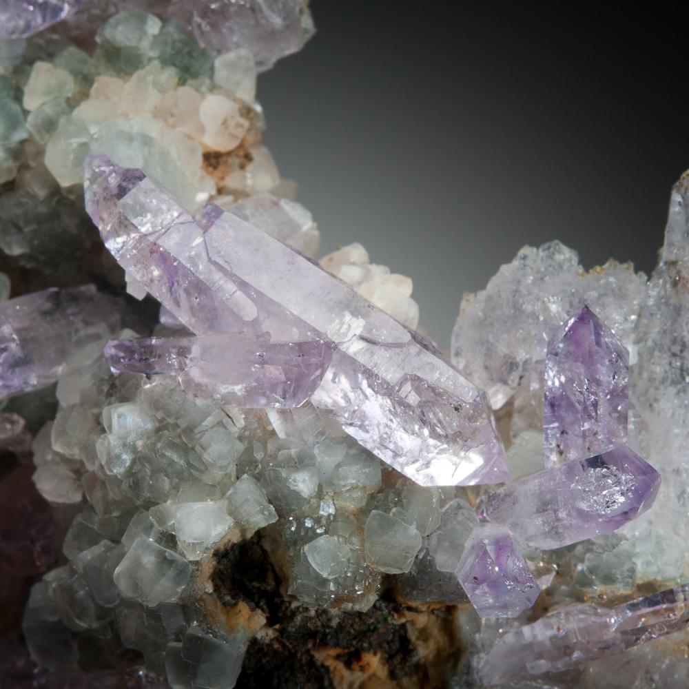 Quartz. var. amethyst, Potosí, Bolivia