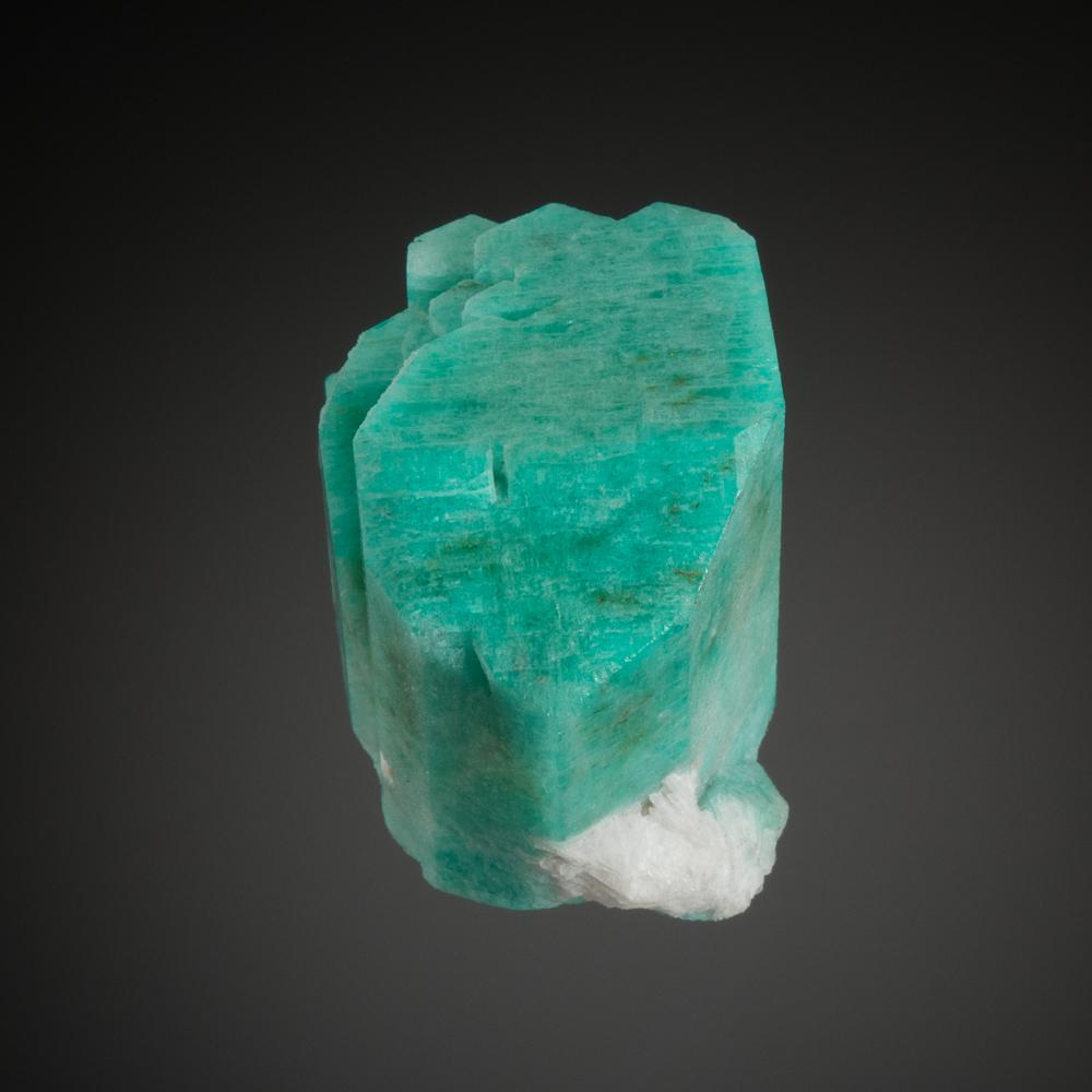 Microcline, var. Amazonite, Smoky Hawk Claim, Crystal Peak Area, Teller Co., Colorado, USA