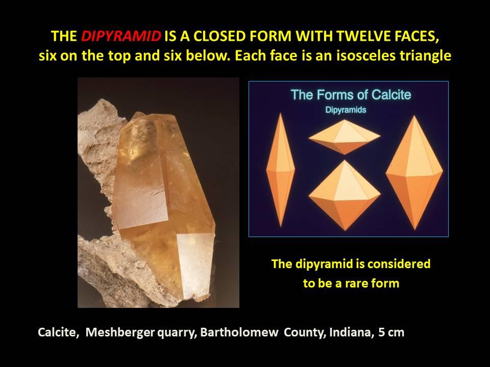 Calcite - Dipyramid