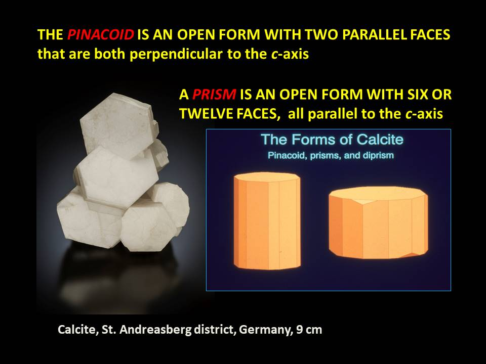 Calcite - Pinacoid and Prism
