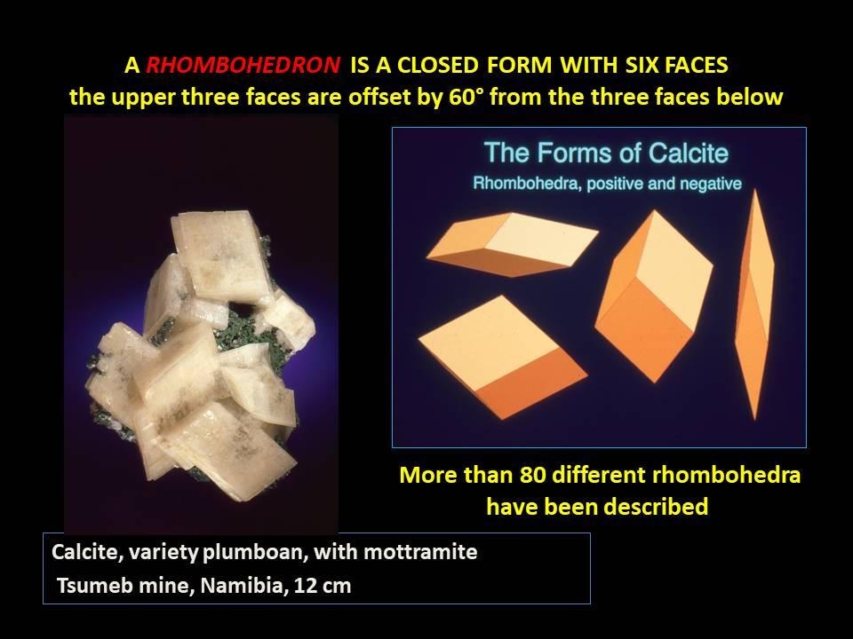 Calcite - Rhombohedron