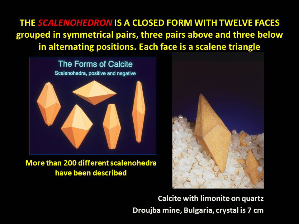 Calcite - Scalenohedron