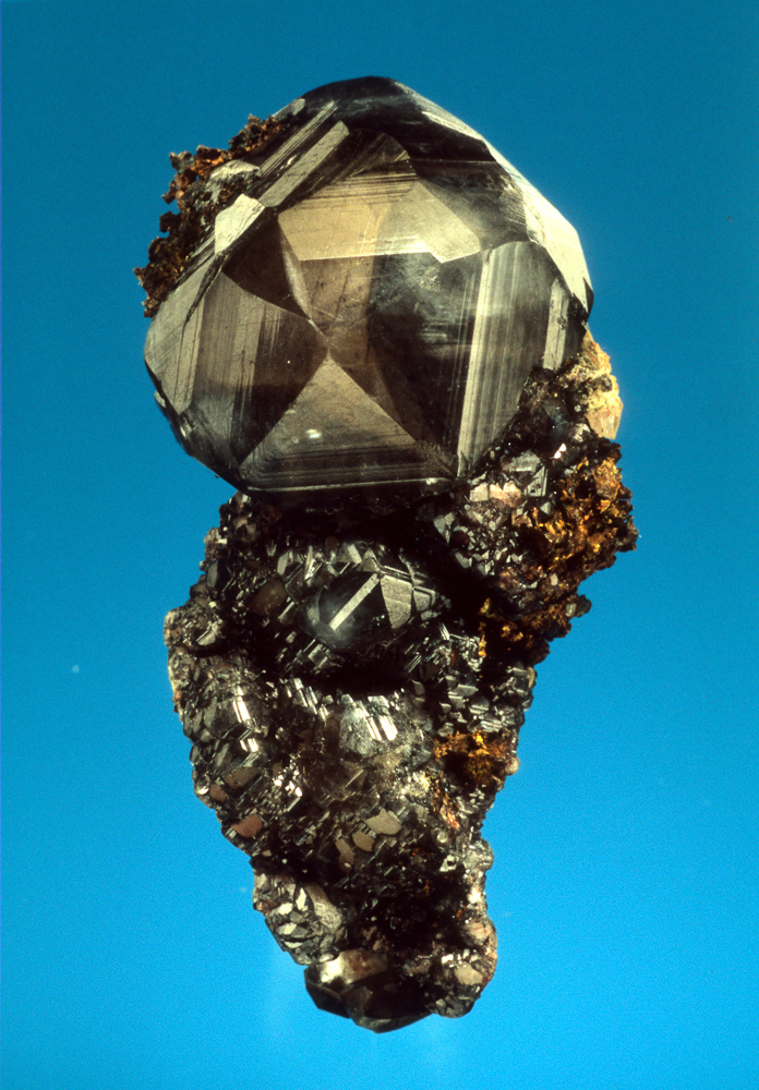 Calcite on Copper