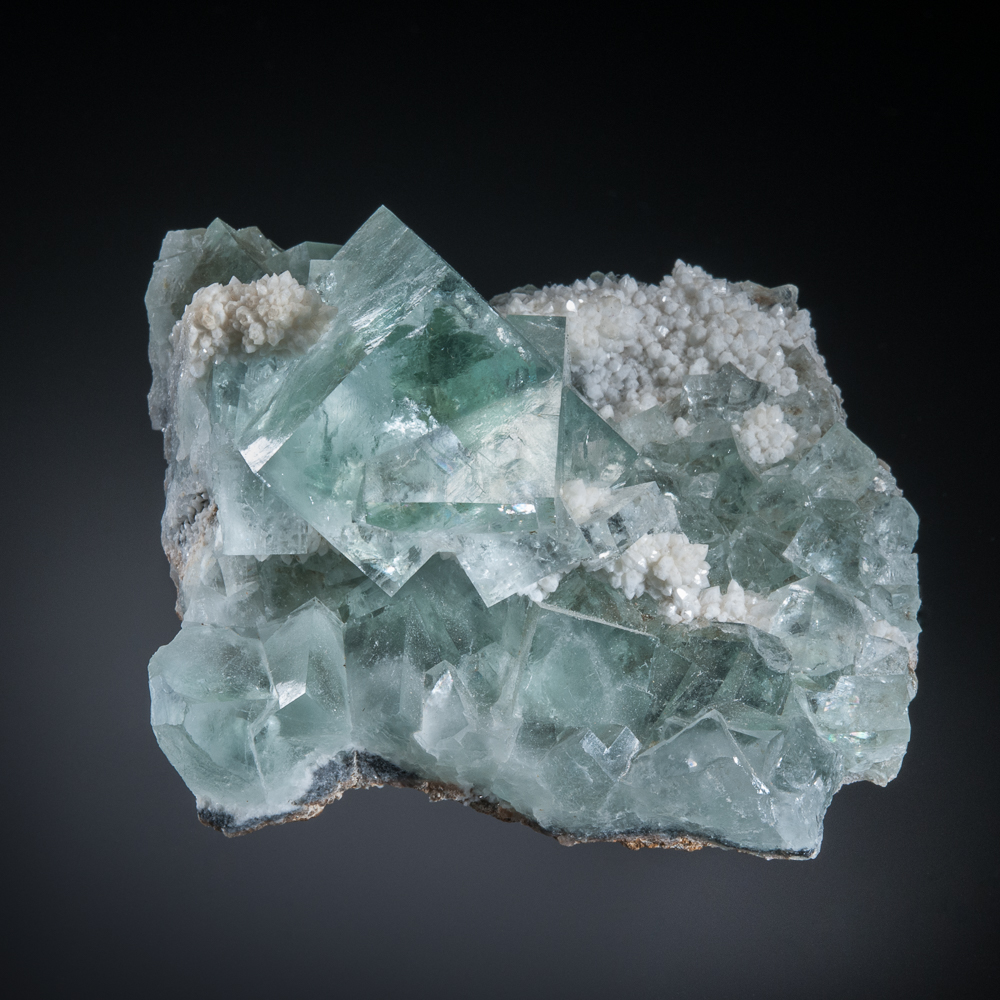 Fluorite, Xianghualing Mine, Linwu Co., Chenzhou, Hunan, China