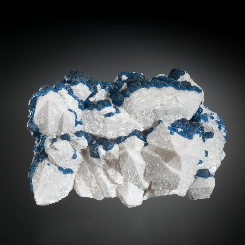 Fluorite on Quartz, Huanggang Mines, Hexigten Banner, Ulanhad, Inner Mongolia A.R., China