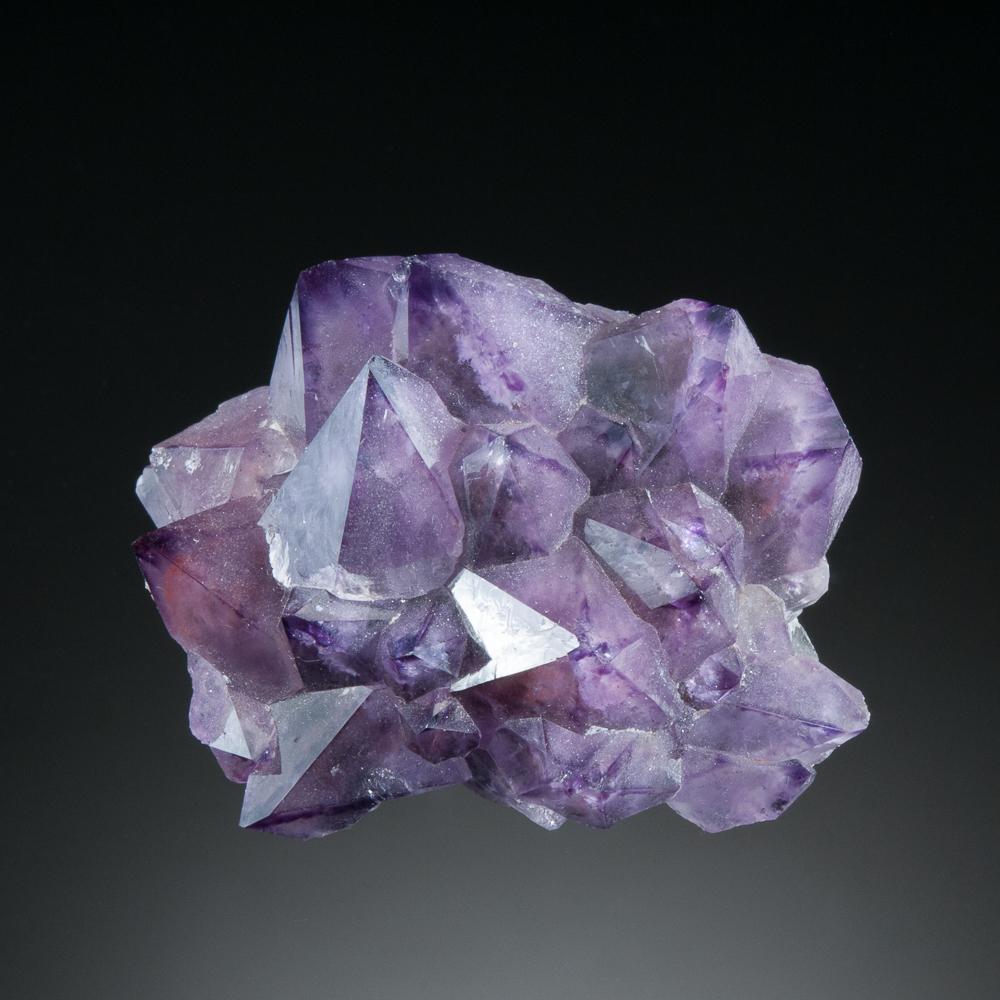 Quartz, var. Amethyst, Diamond Willow Mine, McTavish Twp., Thunder Bay District, Ontario, Canada