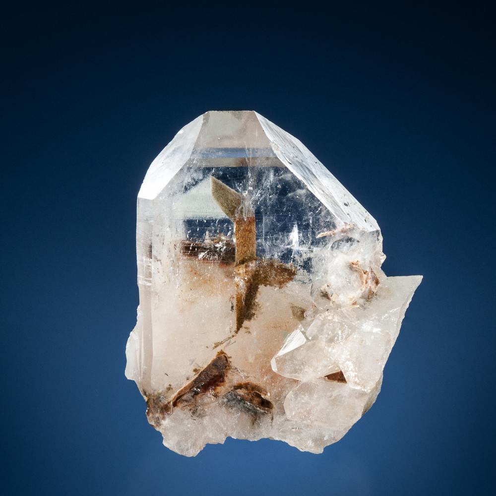 Quartz, Phantom, Hog Jaw Mine, Montgomery Co., Arkansas, USA