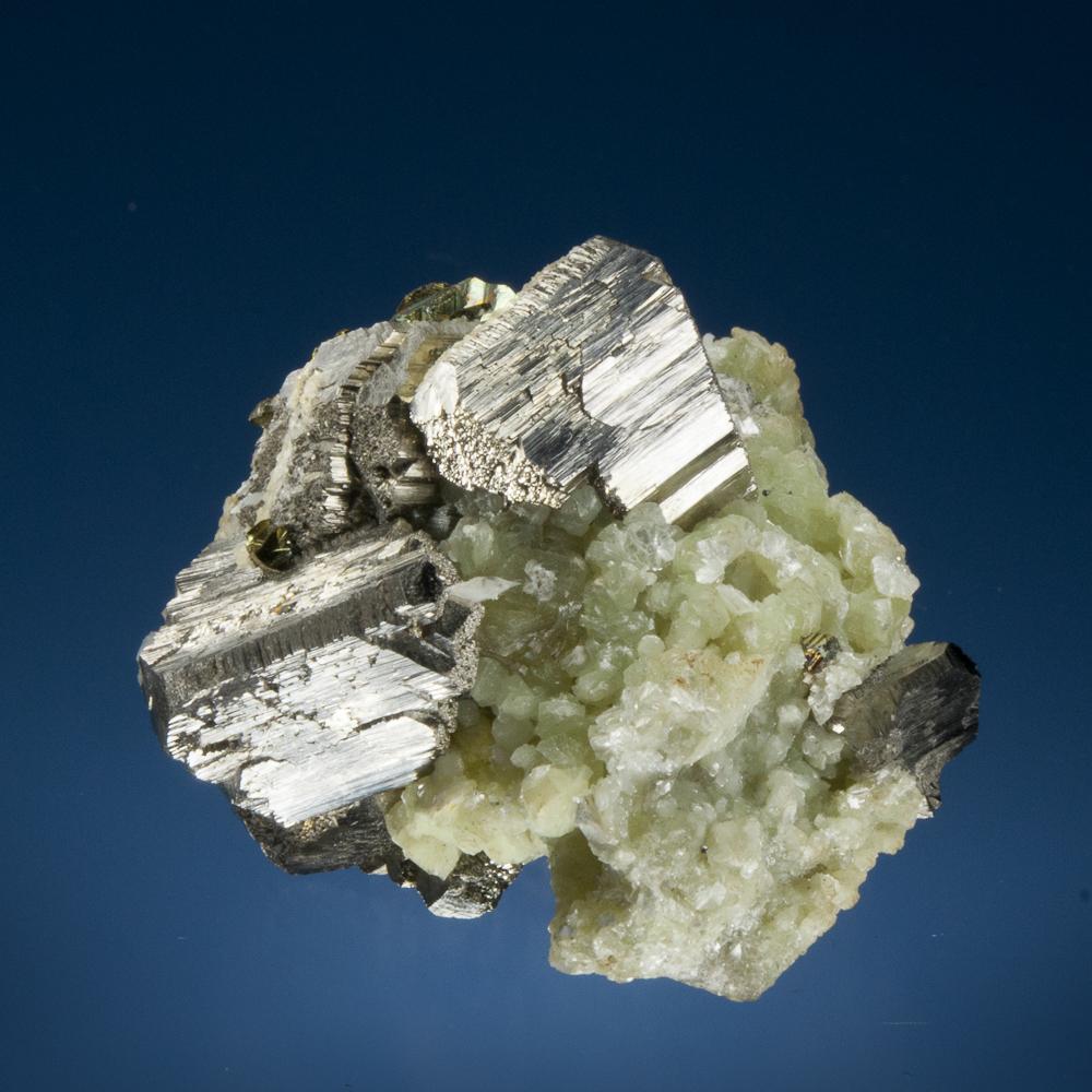 Arsenopyrite, Muscovite, Yaoganxian Mine, Yizhang Co., Chenzhou Prefecture, Hunan Province, China