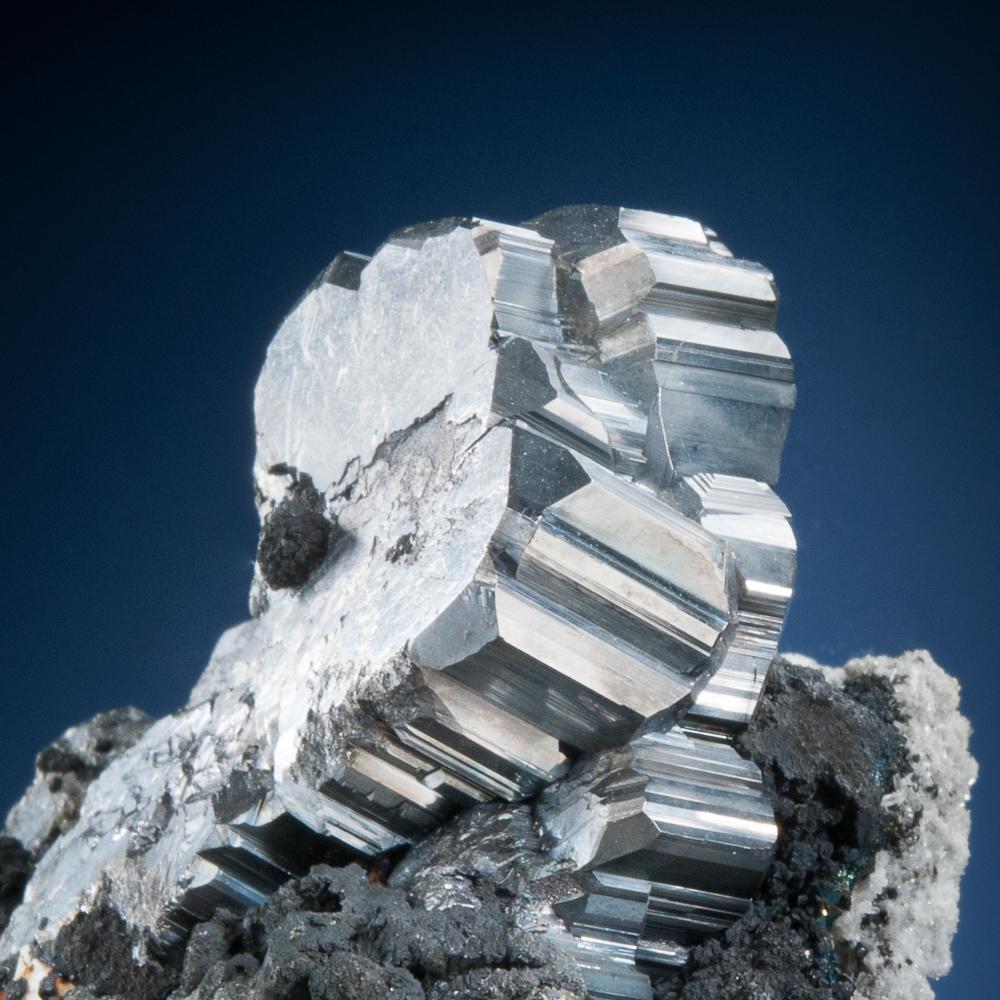 Bournonite, Viboras Mine, Machacamarca District, Potosí, Bolivia