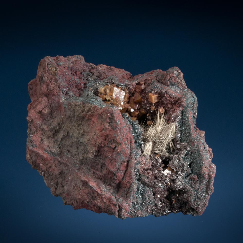 Millerite, Sterling Mine, Antwerp, Jefferson Co., New York, USA
