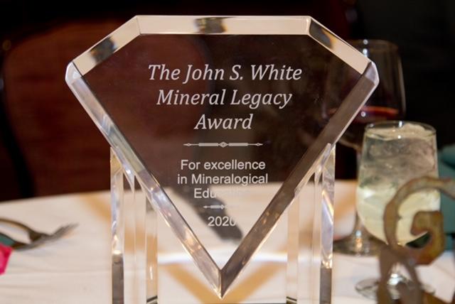 John S. White Mineral Legacy Award